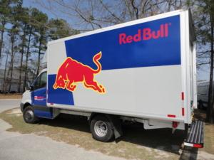 Red Bull Box Truck