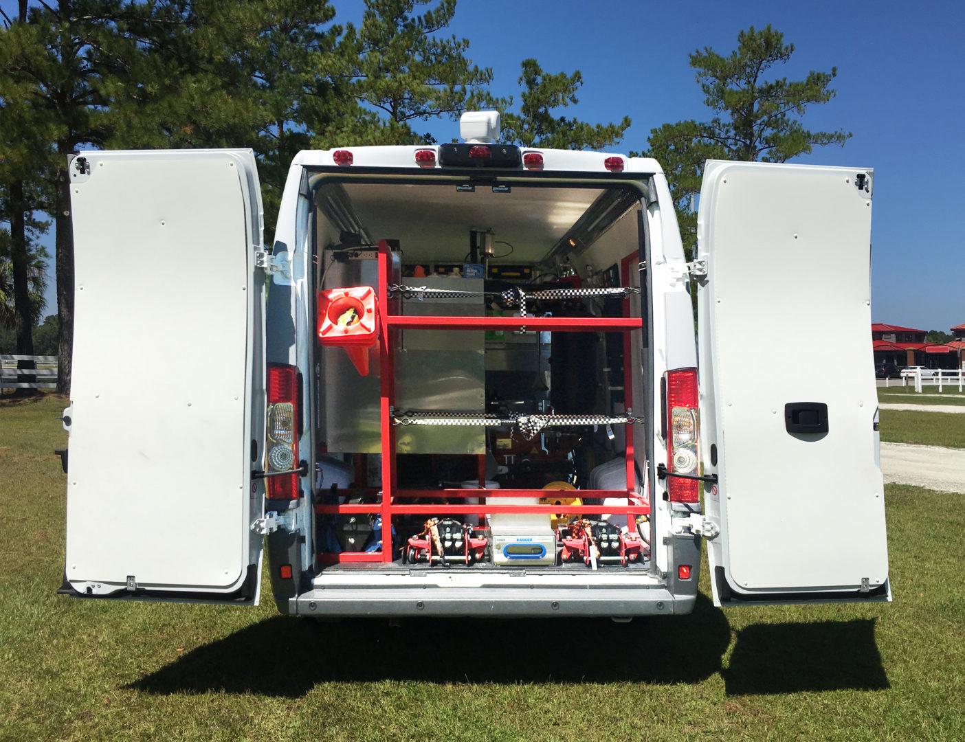 Tire Service Commercial Van