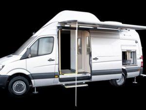 Mobile Scanner Van Exterior 2