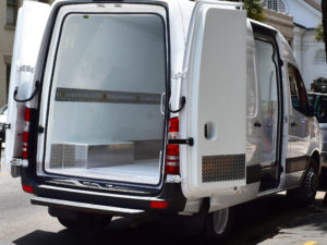 Refrigeration Freightliner Van