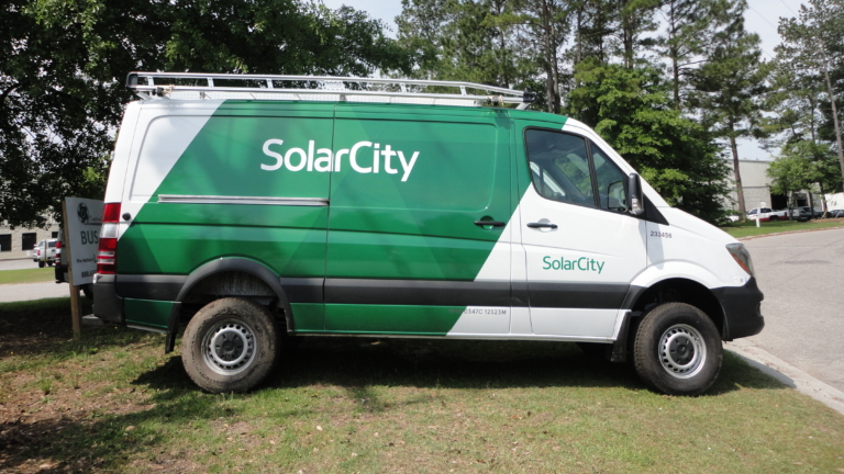 Solar City Van