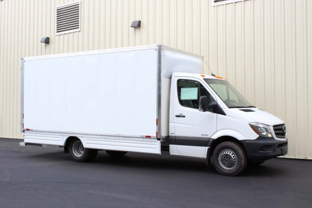 Mercedes Benz Box Truck