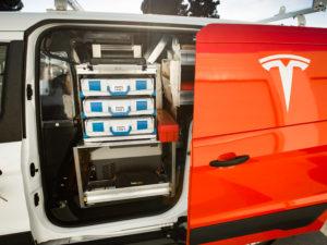Tesla Service Van