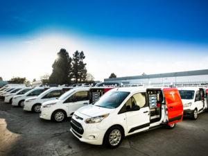 Tesla Service Vans